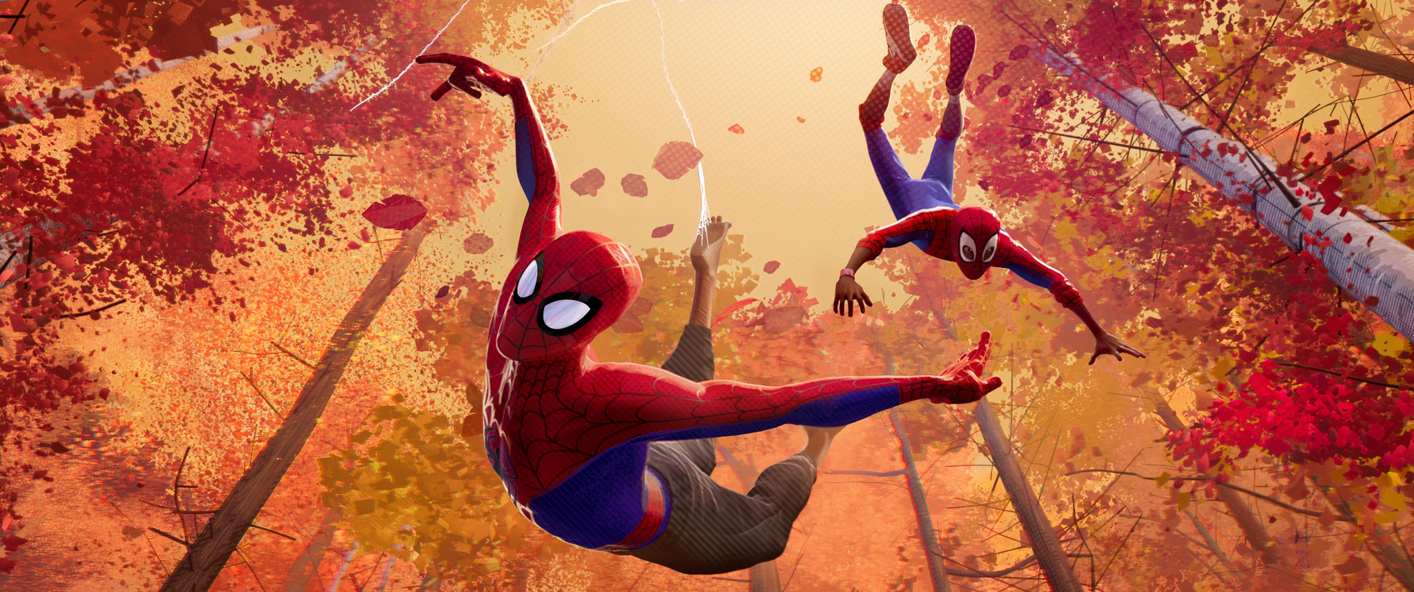 For the first time Sony Pictures is opening up a different Spider-Man universe - known as the Spider-Verse - where more than one person, or cartoon pig, c