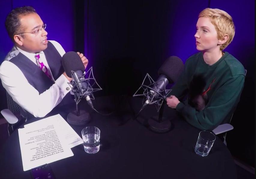 Krishnan Guru-Murphy's podcast explores current affairs in detailed interviews