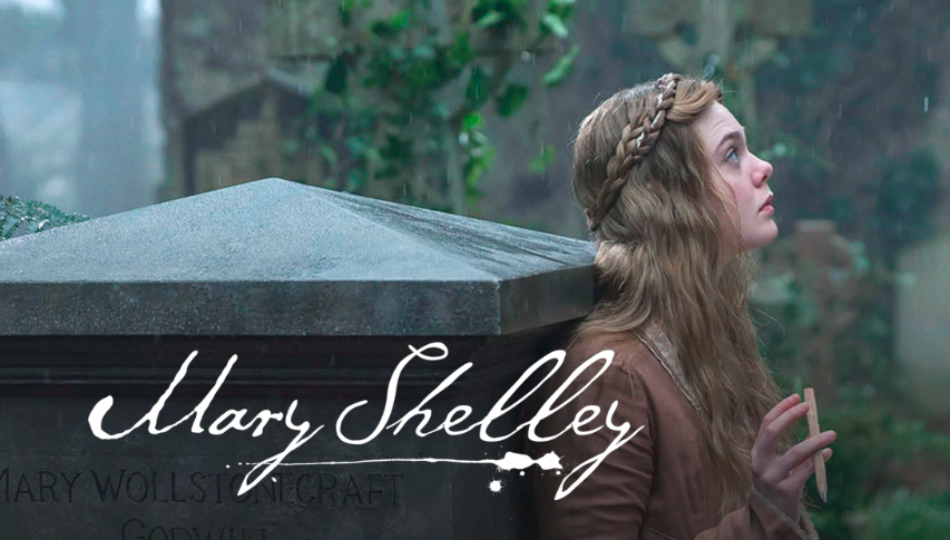Mary Shelley on Netflix is about how the author of Frankenstein was originally published under her husbands name.